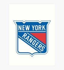 New York Rangers Kunstdruck