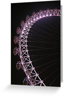 London Eye by Jeanne Horak-Druiff