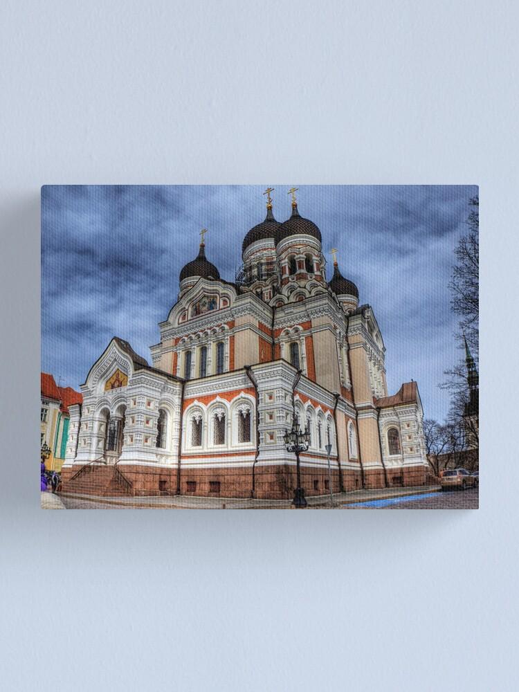 Alternate view of Aleksander Nevsky Cathedral - Tallinn, Estonia Canvas Print