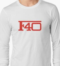 Ferrari F40 Long Sleeve T-Shirt