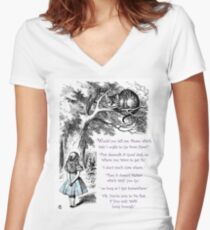 Cheshire Direction Women's Fitted V-Neck T-Shirt