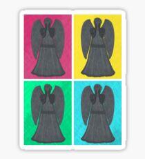 Weeping Angels Pop Art Sticker
