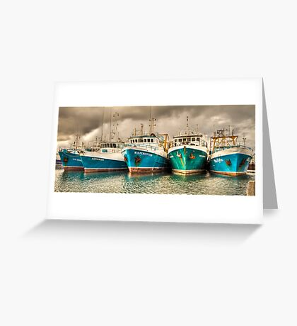 Fishing Boats - Fremantle  WA Greeting Card
