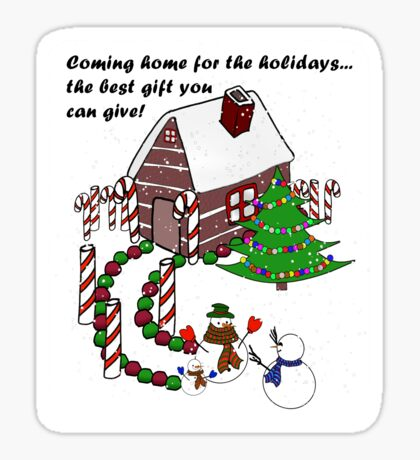 Snowman - Homecoming for the Holidays Sticker
