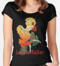Jules Cheret - La Loie Fuller Women's Fitted Scoop T-Shirt