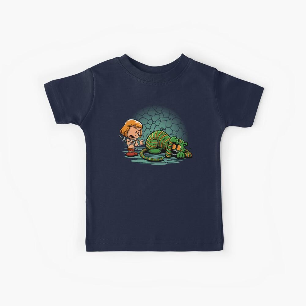 Miedo a tu propia sombra Camiseta para niños