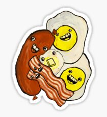 Eggs, Bacon, Grits, SAUSAGE! Sticker