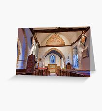 St Mary The Virgin, Fordwich Greeting Card
