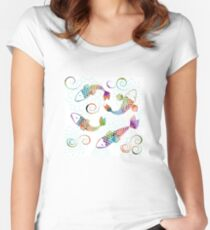 Peaceful Kois Women's Fitted Scoop T-Shirt