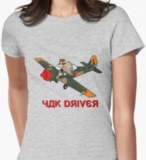 Yak Driver (for SE-LVH) Womens Fitted T-Shirt