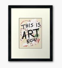 This is ART! Framed Print