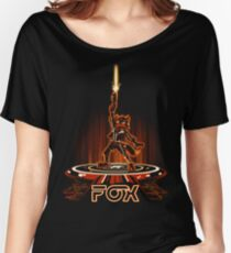 FOXTRON Women's Relaxed Fit T-Shirt