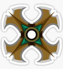 Sivir Crossblade (SMALL) Sticker