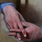 Hands in Oils by Kostas Koutsoukanidis