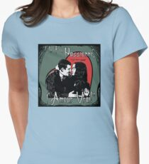 """Un Fou, Passionné, l'Amour Vrai!""- One Crazy, Passionate, True Love! (green) Womens Fitted T-Shirt"