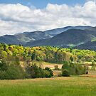 Cades Cove Valley by JHRphotoART