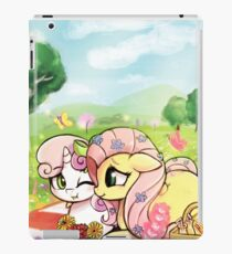 A picnic for two iPad Case/Skin