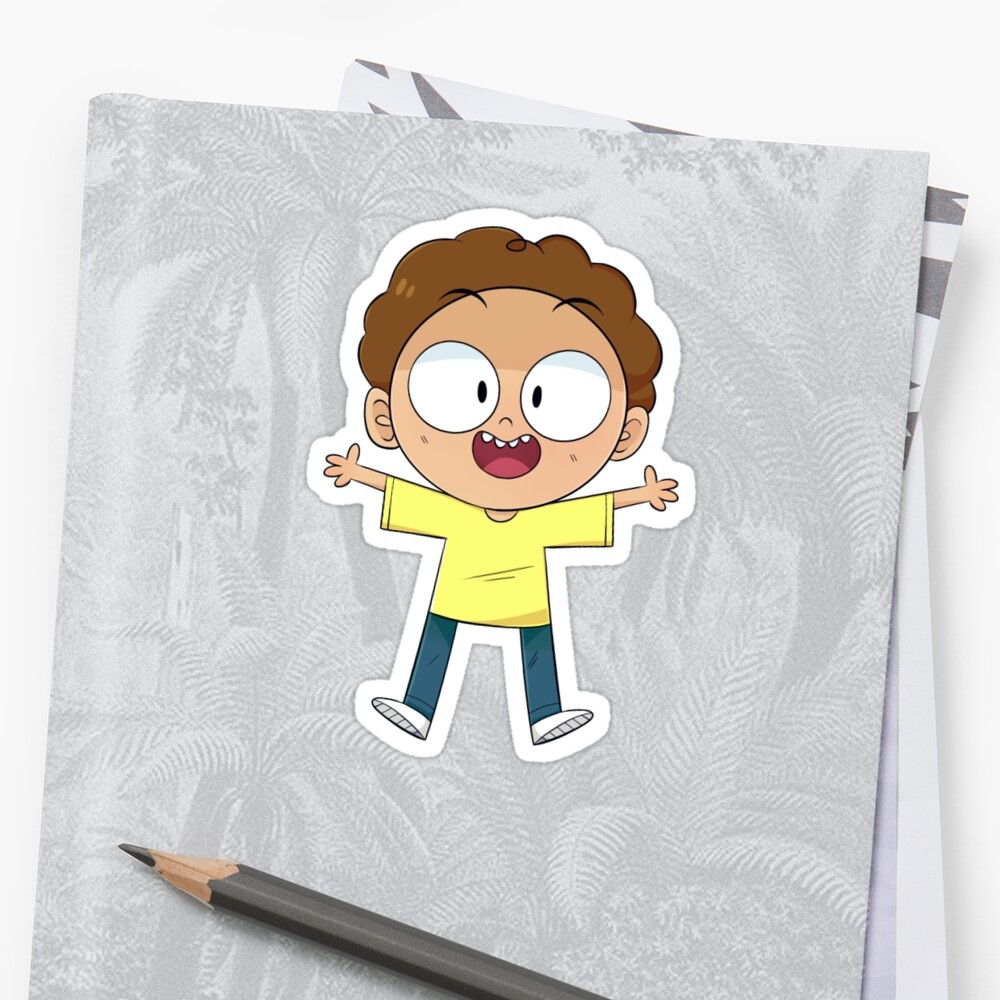 Lil Peanut Morty Sticker