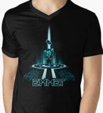 EMMETRON Men's V-Neck T-Shirt