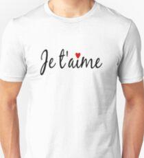 Je T'aime Unisex T-Shirt