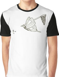 Butterfly Metamorphosis Graphic T-Shirt