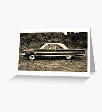Mopar Cruiser Greeting Card