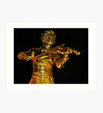 Johann Strauss  ll ....... Art Print