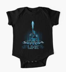 LINKTRON - Blaue Variante Baby Body Kurzarm