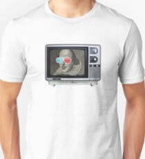 Shakespeare 3D T.V. T-Shirt