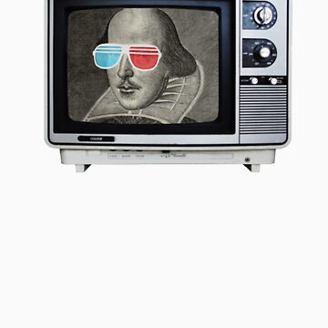 Shakespeare 3D T.V. by halfurness