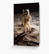 One Small Step for Man Greeting Card