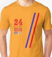 Hesketh Racing James Hunt 24 formula 1 Unisex T-Shirt