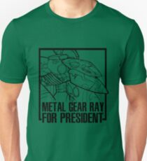 Metal Gear RAY for President  T-Shirt