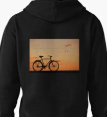 Melancholy is incompatible with bicycling.  Pullover Hoodie