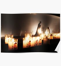 Candle light vigil Poster