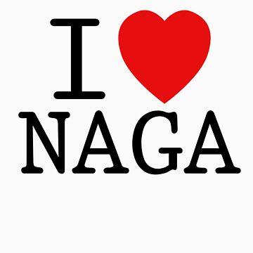 I <3 NAGA by SpazzyFanGirl