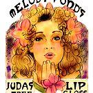 Melody Pond's Judas Tree Lipgloss by Monica Lara