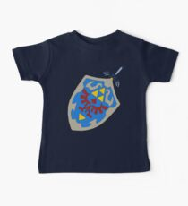 Hylian Shield and Master sword Baby Tee