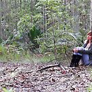 Sitting with the spotted gums by SunseekerPix