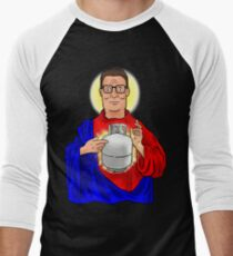 The Propane Savior  Men's Baseball ¾ T-Shirt