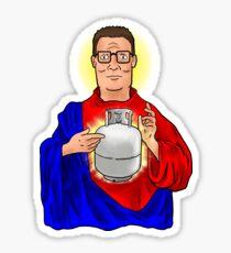 The Propane Savior  Sticker