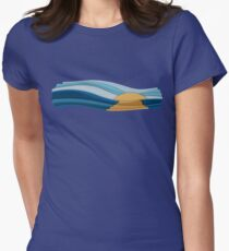 Sunrise Women's Fitted T-Shirt