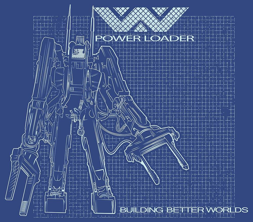 Powerloader Blueprint by buzatron