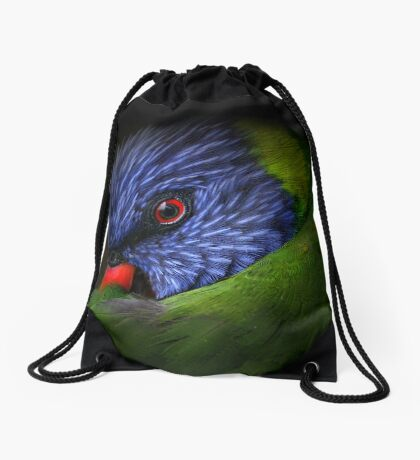 lorikeet Drawstring Bag