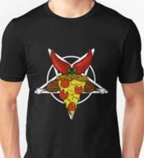 Pizzagram!! A junk food pentagram. T-Shirt