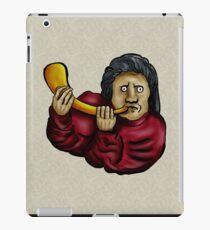 Medieval Musician- Horn iPad Case/Skin