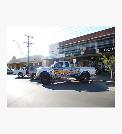 Rocket Sports Truck - S80/Southern 80 - Echuca 2012 Photographic Print