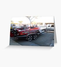S80/ Southern 80 2012  - XS  Cash SPEED BOAT - ECHUCA Greeting Card