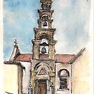 Church at Chandras by Kostas Koutsoukanidis