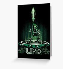 LINKTRON Greeting Card